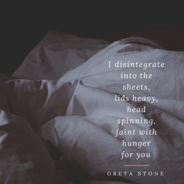 Hunger a poem by Greta Stone