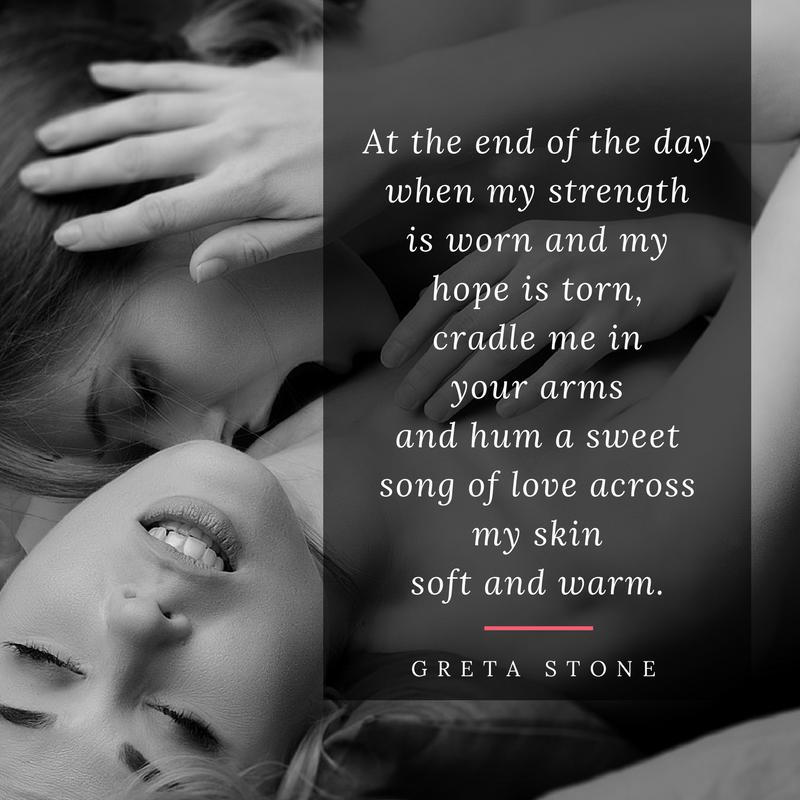 Hum erotic poem by Greta Stone